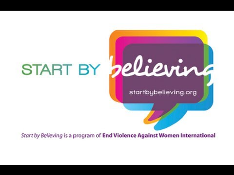 Utah's 1st Annual Start By Believing Campaign: April 6, 2016